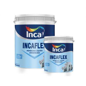 Pintura Membrana Liquida Impermeabilizante Incaflex 20k+4k