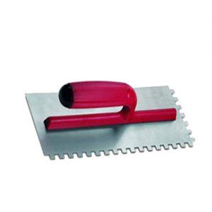 Llana De Acero Dentada 10 X 10mm. Rubi 25906