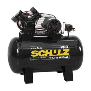 Compresor Csv – 5.2/100L 1 Hp Monofasico2 Polos Linea Pro Schulz