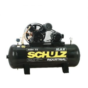 Compresor Monofasico 3hp 200lt. Msv 15max Schulz