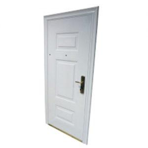 Puerta Blindada Blanca. Izq. Apertura Int.