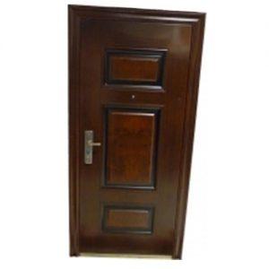 Puerta Blindada Símil Madera Derecha Apertura Int.
