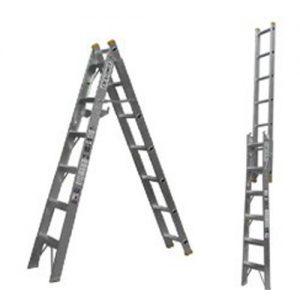 Escalera Cte8 Alum. 17esc Conv.Tijera/extens.Escalumex