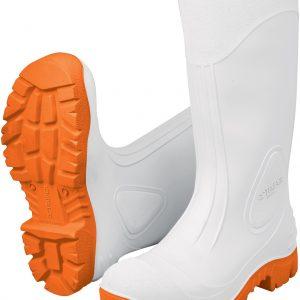 Bota sanitaria blanca PVC,int.algodón Talle39/44 TRUPER