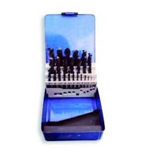 Jgo.25 Mechas HSS laminadas-caja metal 1a13mm