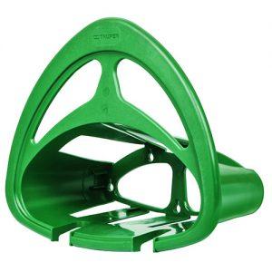 Base de plástico p/colgar mangueras,verde  GAN-MAV