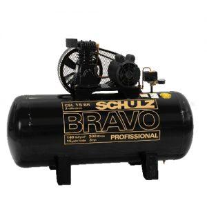 Compresor Bravo 3Hp Trif.Csl-15Br Schulz