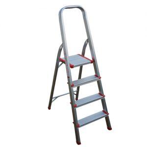 Escalera Aluminio 4 escalones