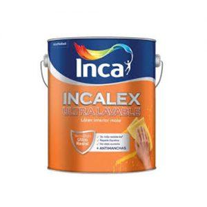 Pintura interior Incalex Utralavable 4 y 20 Lts