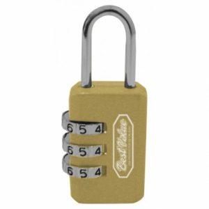 Candado maleta dorado C16691