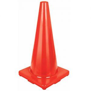 Cono precaución naranja 45cm TRUPER CONO-45