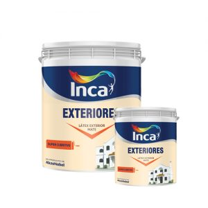 Látex mate Exteriores Blanco Inca 20+4 L