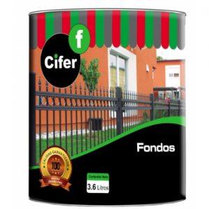 Fondo CIFER 3.6 Lts.