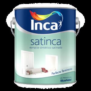 Esmalte sintético satinado Satinca 1, 4 y 20 Lts.