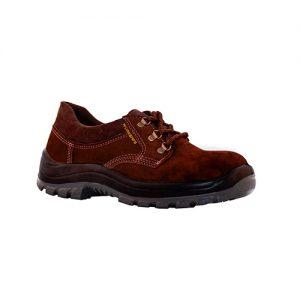 Zapato de Cuero Top Nobuck WORKSAFE – marrón – Punta Acero