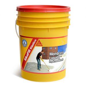 Membrana líquida impermeabilizante Sikafill Elástico 4Kg