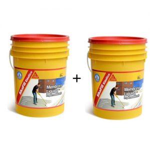 Membrana líquida impermeabilizante Sikafill elástico 20+20Kg